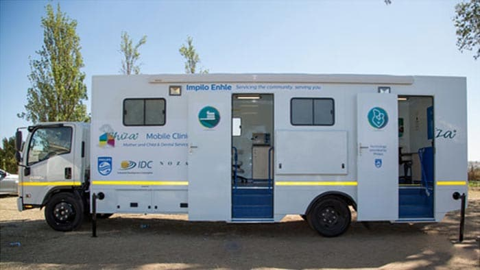 Philips inaugurates South Africa's first Mini-Community Life Centre